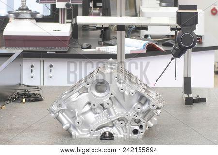 Robot makes a car engine