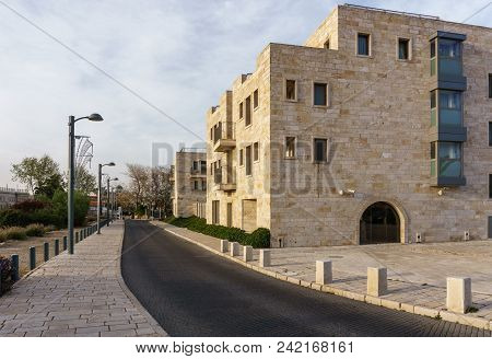 Acre, Israel - March 23, 2018: Hi Acco Knights Hostel In Old Acre City