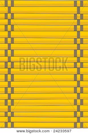Bamboo mat handmade