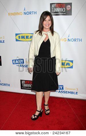 LOS ANGELES - OCT 10:  Julie Warner arriving at the Web-series