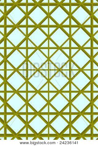 Decorative grid.