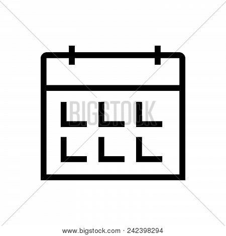 Calendar Outlined Symbol Of Timetable. Calendar Icon. Calendar Icon. Calendar Icon. Calendar Icon