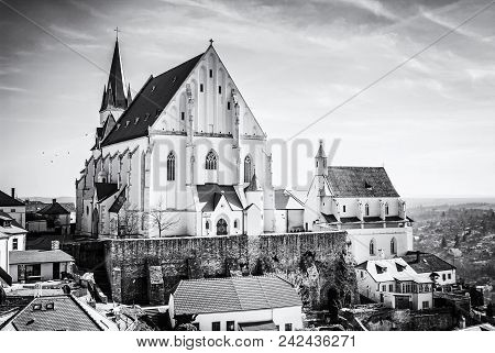 St. Nicholas' Deanery Church, Znojmo, Colorless