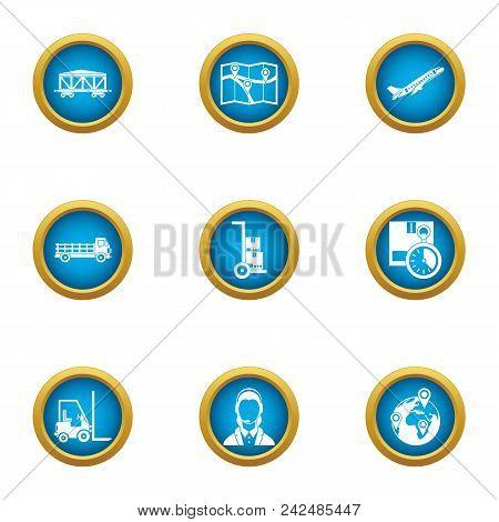 Fare Icons Set. Flat Set Of 9 Fare Vector Icons For Web Isolated On White Background