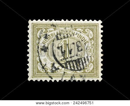 Netherlands East Indies - Circa 1902 : Cancelled Postage Stamp Printed By Netherlands East Indies, T