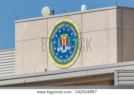 Indianapolis - Circa May 2018: Federal Bureau Of Investigation Indianapolis Division. The Fbi Is The
