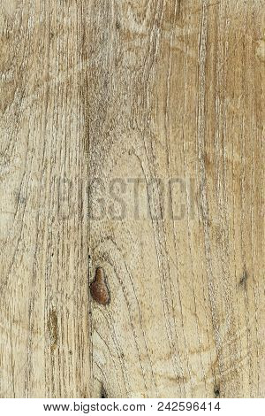 Vintage Rustic Closeup Of Wooden On White Background. Wooden Texture, Empty Wood Background. Natural