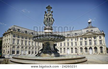"""""""Hotel de Ville"""" (Town Hall) of bordeaux, France"""