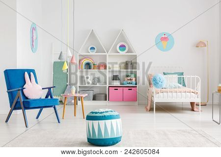 Colorful Kid's Room Interior