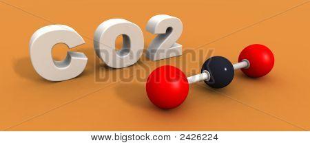 Carbon Dioxide Moilecule