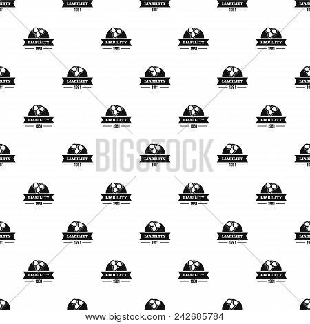 Liability Pattern Vector Seamless Repeat For Any Web Design