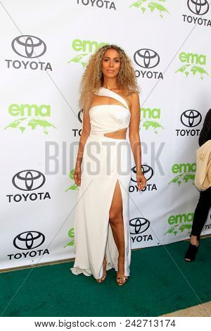 LOS ANGELES - MAY 22:  Leona Lewis at the 28th Annual Environmental Media Awards at the Montage Beverly Hills on May 22, 2018 in Beverly Hills, CA