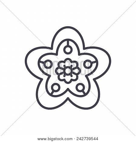Artistic Handicraft Black Icon Concept. Artistic Handicraft Flat  Vector Website Sign, Symbol, Illus