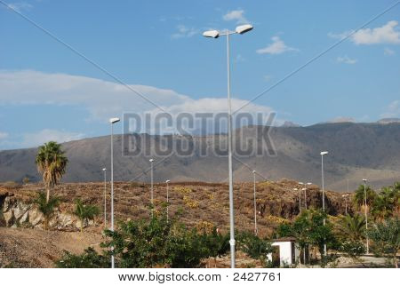Mountain Lamppost
