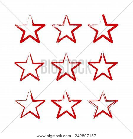 Star Vector Color Logo, Star Icon Color, Star Rating, Ranking. The Astrological Star Symbol. Logotyp