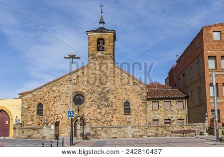 Church Of San Bartolome In The Historic Center Of Astorga, Spain