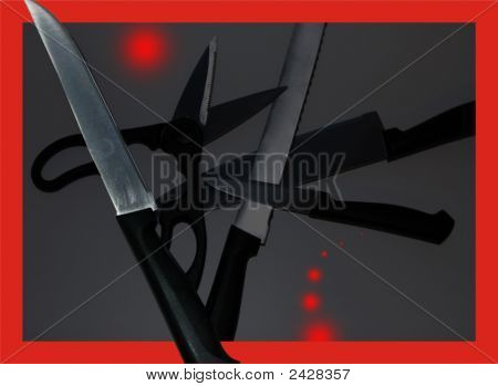 Still-Life From Knifes