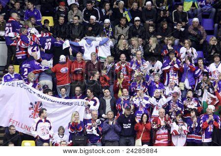 Ice-hockey Britain Fans