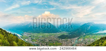 Panorama View Of Interlaken