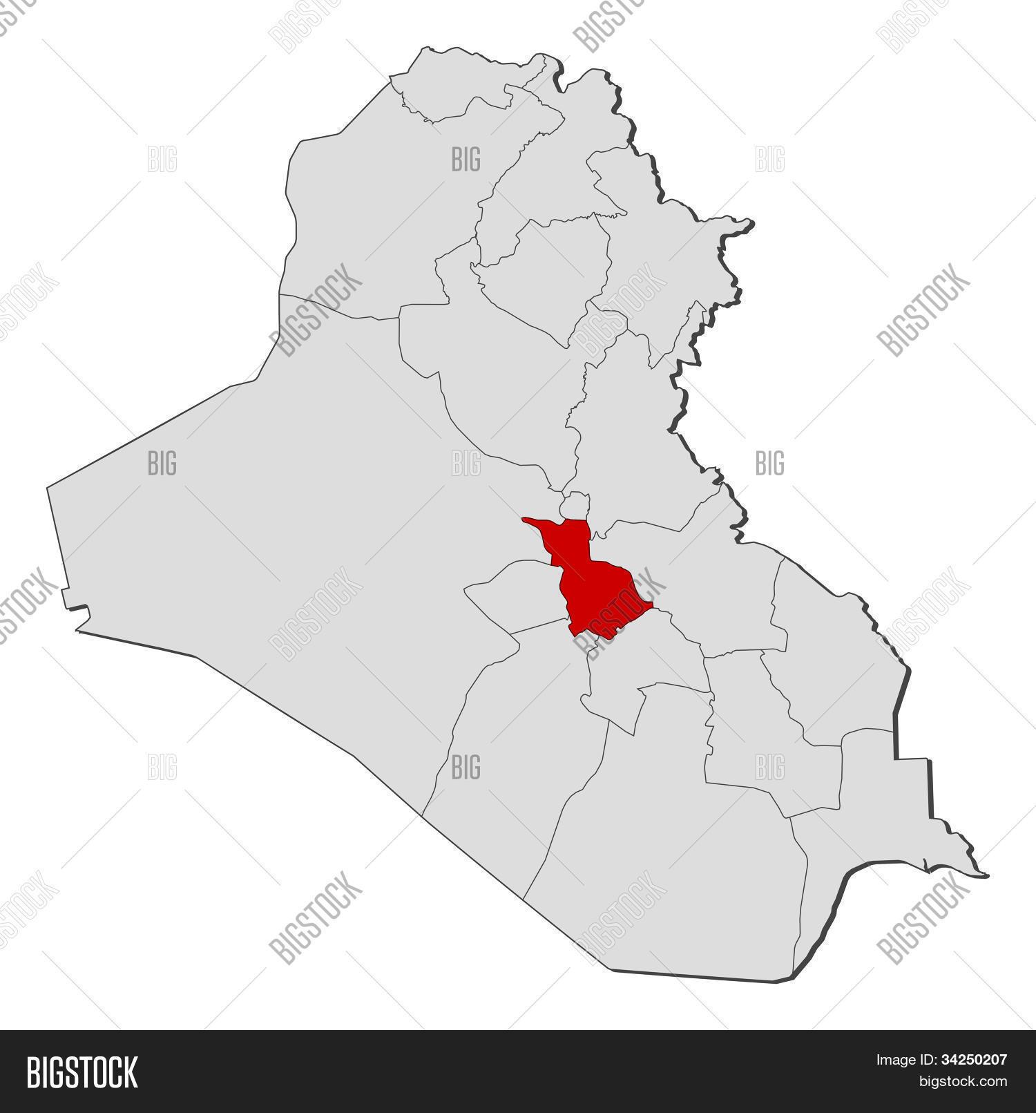 Map Iraq, Babil Image & Photo (Free Trial) | Bigstock