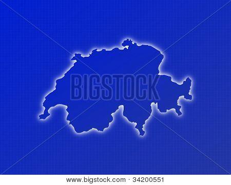Map Of Swizerland