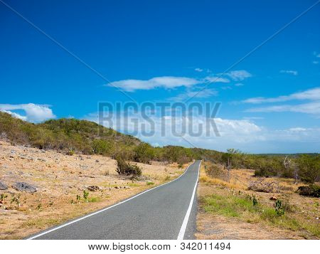 Ruta Panoramica Road In Puerto Rico. Usa. This Road Is Little Used By Tourists But Allows To Leave T
