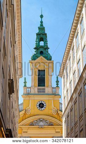 Dorotheerkirche Stadtkirche Church On Dorotheergasse In Vienna In Austria