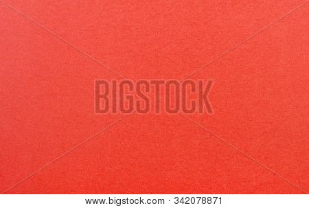 Plain Red Background. Red Cardboard. Red Paper Texture Background. Abstract Geometric Flat Compositi