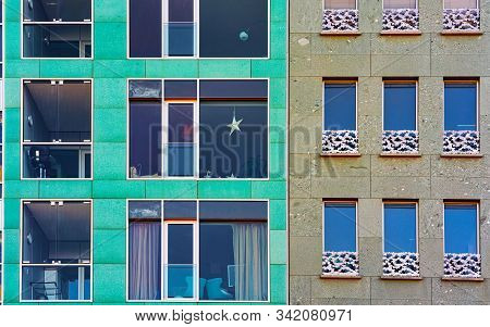 Apartment Modern House And Business Building Architecture At Berlin Germany Reflex