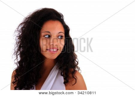 Portrait Of Beautiful Woman African