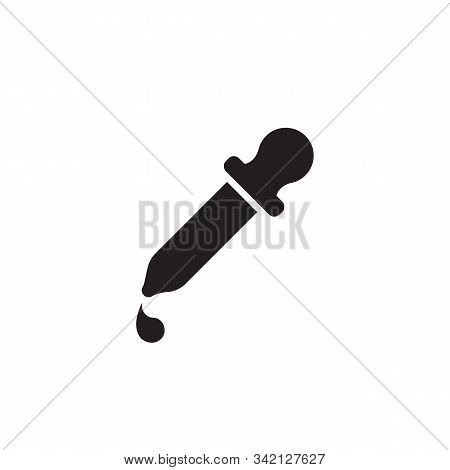 Pipette Icon Isolated On White Background. Pipette Icon In Trendy Design Style. Pipette Vector Icon