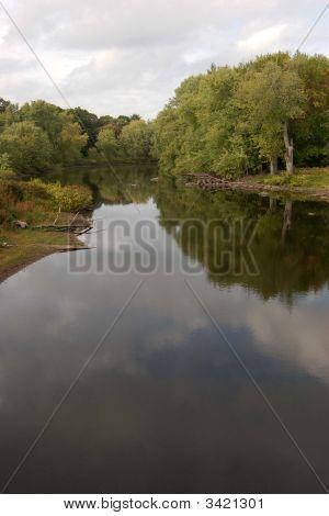 Concord River Near Concord, Ma.