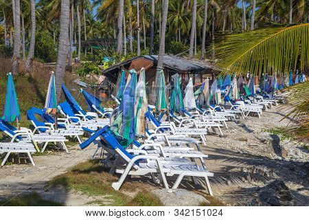 Racha Raya Island, Thailand,  Island Near Phuket Island, Second Beach On The Island