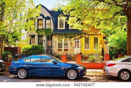 Residential Building In Georgetown Neighborhood In Washington Dc Reflex