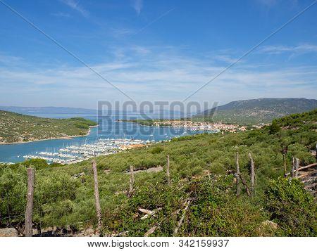 Harbor Of The City Of Cres Croatia Island