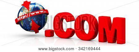 International Domain .com. The Domain Name