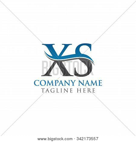 Initial Xs Letter Linked Logo. Creative Letter Xs Modern Business Logo Vector Template. Xs Logo Temp