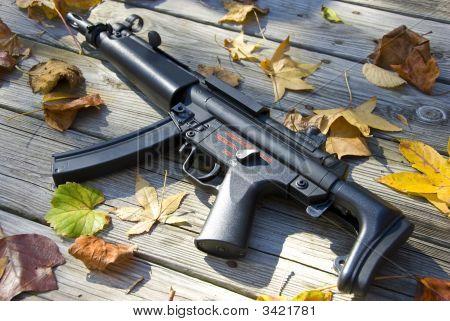 Artitistic Sub Machine Gun
