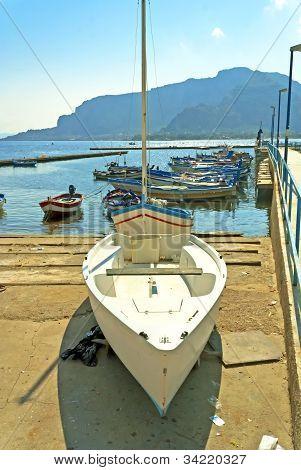 sunny day on Sicily