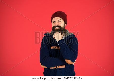 Personal Stylist. Warm And Comfortable. Fashion Menswear Shop. Masculine Clothes Concept. Think And