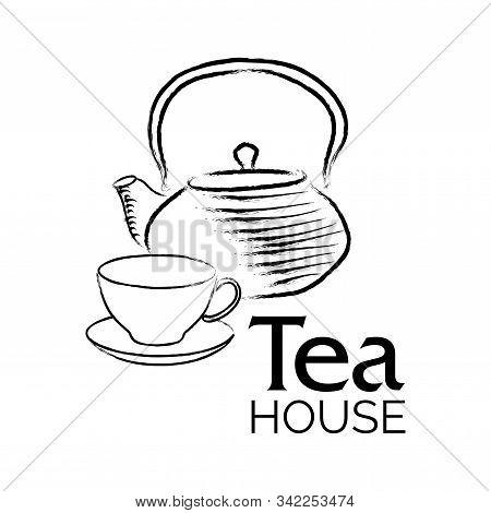 Vector Logo Of A Tea Shop And Cafe