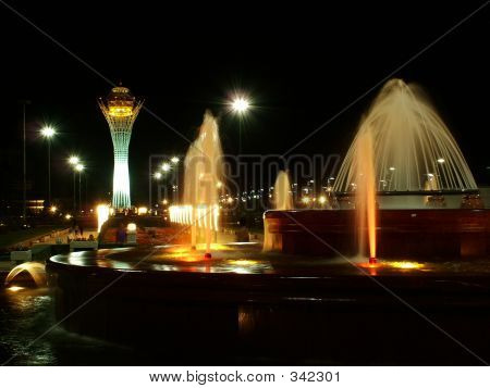 City Fountain Astana Kazakhstan