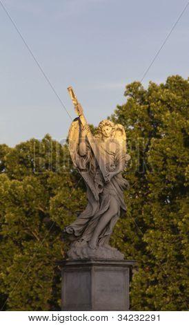 Statue on Castel St. Angelo