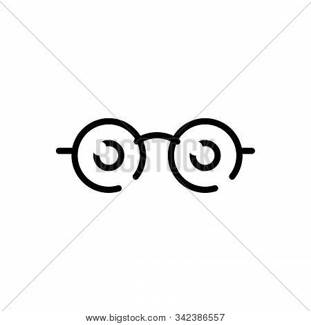 Black Line Icon For See View  Look Sight Watch Vision Eyesight Dristi Peep