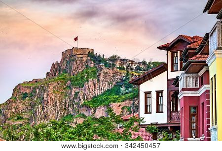 Ankara Castle, Ancient Fortifications In The Capital City Of Turkey