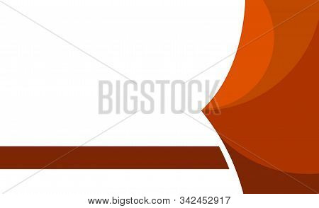 Orange Background. Abstract Background Texture On Elegant Rich Luxury Background Web Template Or Web