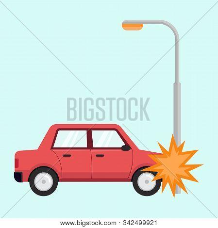 Car Accident Flat, Car Accident Design, Car Accident Vector, Car Accident Illustration, Car Accident