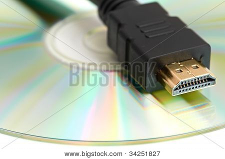 High Definition - HDMI Cable and Blank DVD Disc