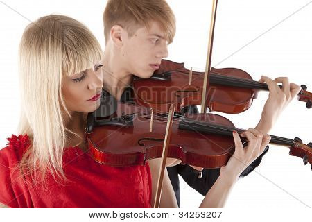 Image Of A Man And A Woman