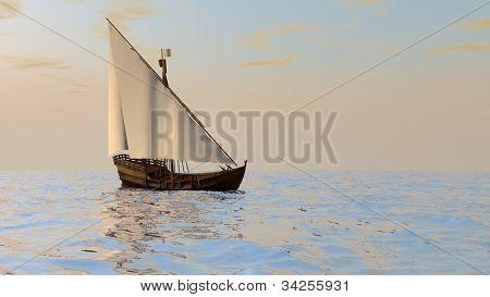 ship similar to Columbus' Ninia